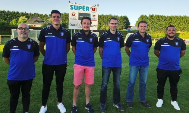 L'organigramme technique pour la prochaine saison est désormais officiel pour le RC Doué Football.