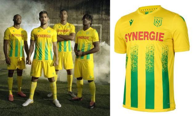 Les Macron stores d'Angers et de Nantes présentent le maillot du FC Nantes !