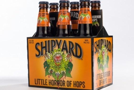 """Képtalálat a következőre: """"Shipyard Brewing Company – Little Horror of Hops"""""""