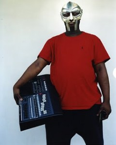 MF DOOM with sampler