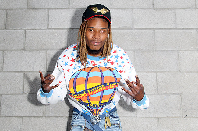 LOS ANGELES, CA - JUNE 27: Rapper Fetty Wap attends Fashion and Beauty @BETX presented by Pantene during the 2015 BET Experience at the Los Angeles Convention Center on June 27, 2015 in Los Angeles, California. (Photo by Rachel Murray/BET/Getty Images for BET)