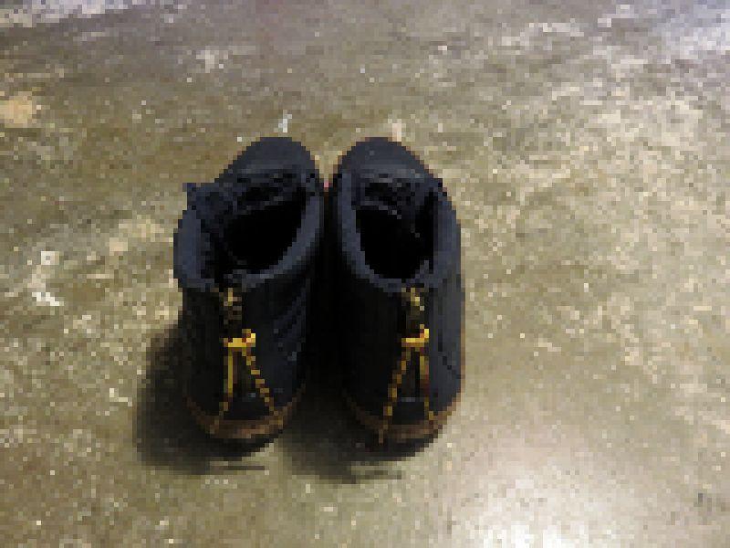 pixelized shoes