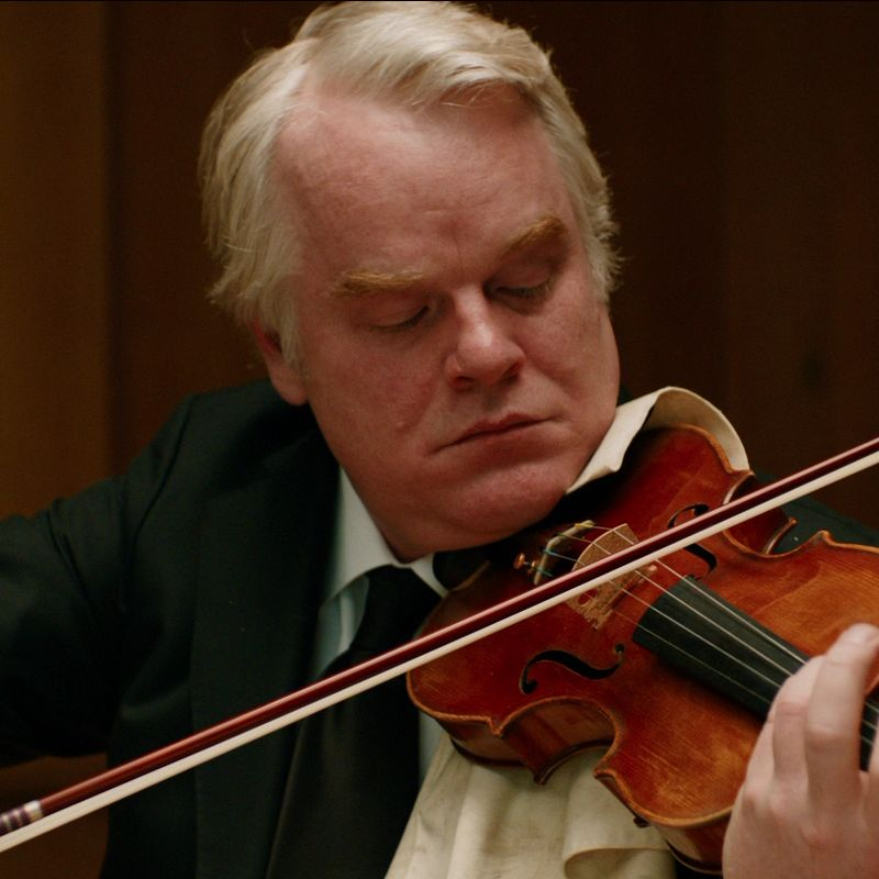 Second Fiddle Philip Seymour Hoffman In A Late Quartet Passion Of