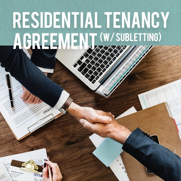 residential subletting agreement
