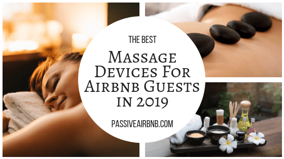 Massage Devices For Airbnb Guests