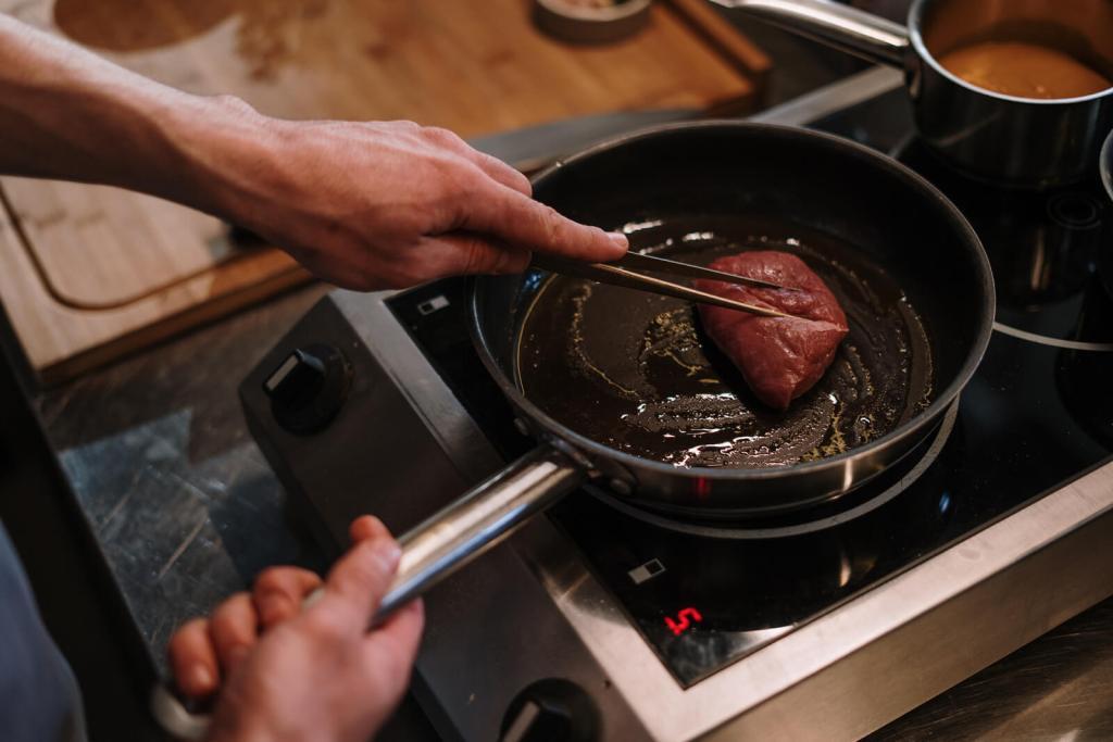 Long-term rental cooking