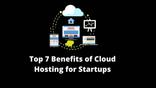 What are the benefits of cloud hosting for startups