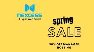 Nexcess Spring Deal