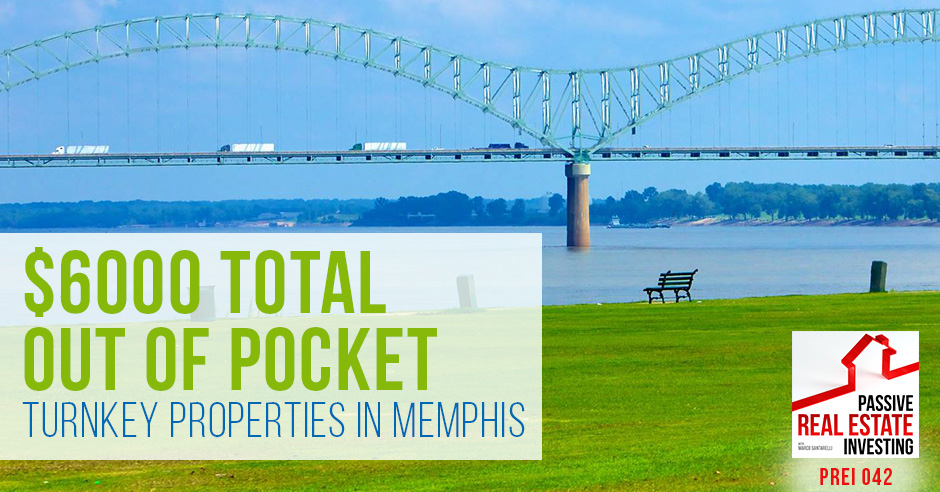 $6,000 Total Out-of-Pocket Turnkey Properties in Memphis