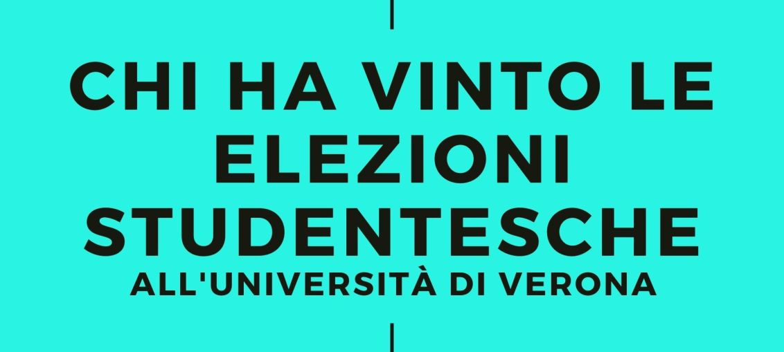 CHI HA VINTo le elezioni studentesche all'università di verona