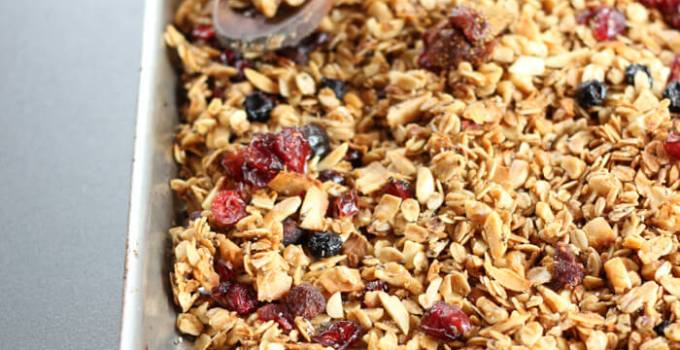 Tasty Everything Granola