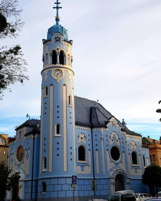 48 hours in Bratislava  Stunning Blue Church in Bratislava
