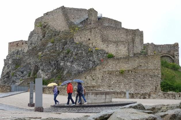 Devin Castle ruins in Bratislava