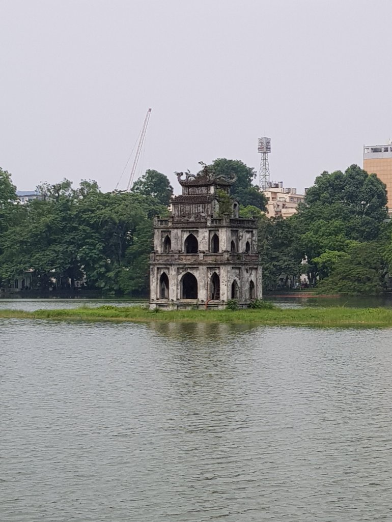 Tower of the Turtle, Hanoi and Ha Long Bay