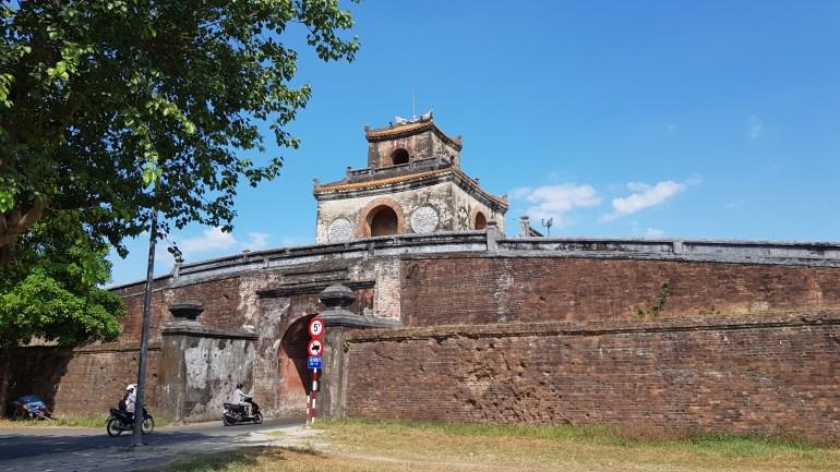 Hue to Da Nang: Hue City Wall