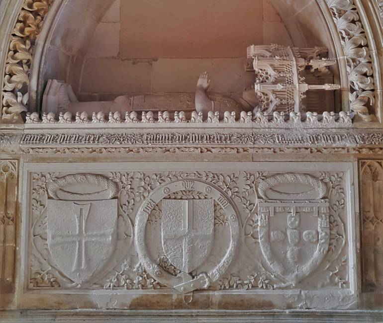 UNESCO sites: Tomb of Henry the Navigator in Batalha monastery