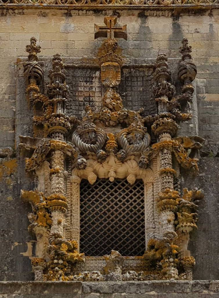 UNESCO sites: Manueline Window at Tomar