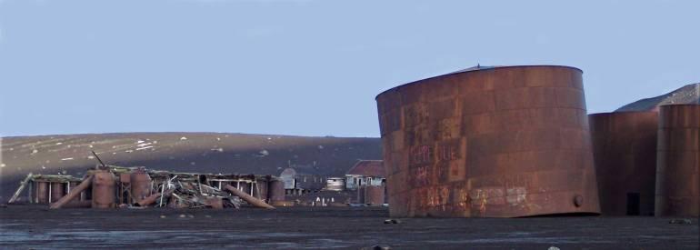 Deception Island, Antarctica