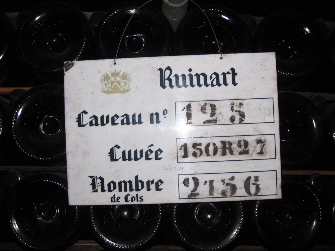 Tour of Celliers Ruinart, Reims