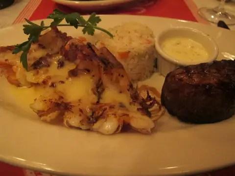 Shrimp & Steak