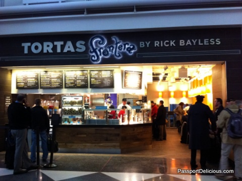 Tortas Frontera at Gate B11 in O'Hare Airport