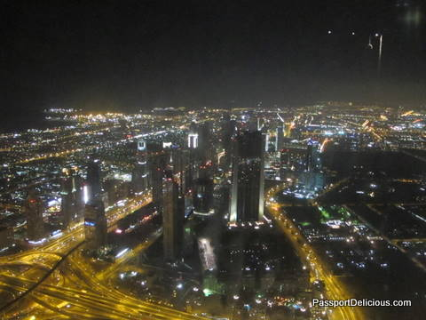 Dubai from the Top of the Burj Khalifa