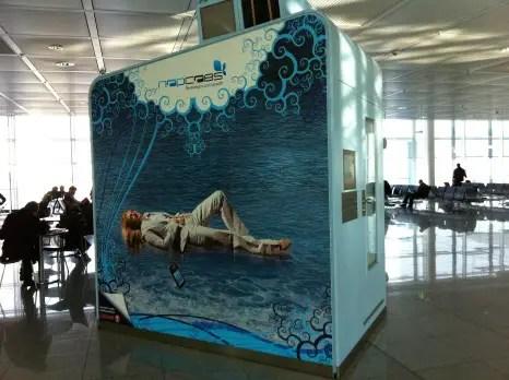 Napcabs Munich Airport: The Munich Airport Sleeping Pods