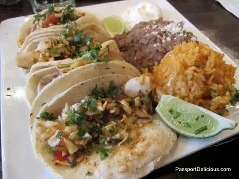 Moe's Cantina Fish Tacos