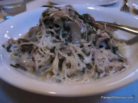 Mushroom Pasta Antico