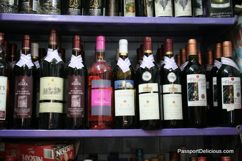 wine in damascus