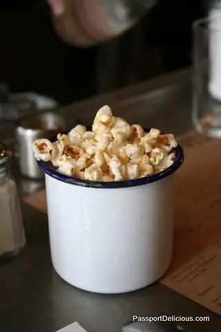 Popcorn at Spuntino