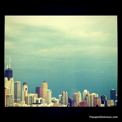Skyline during Crazy Storm Day