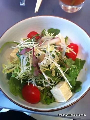 Salad at Union Sushi & BBQ