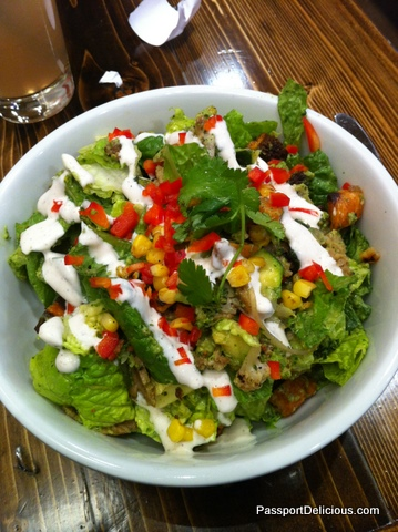 Chimi Chop Salad at Native Foods