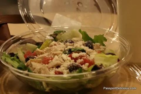 Au Bon Pain Mediteranean Salad