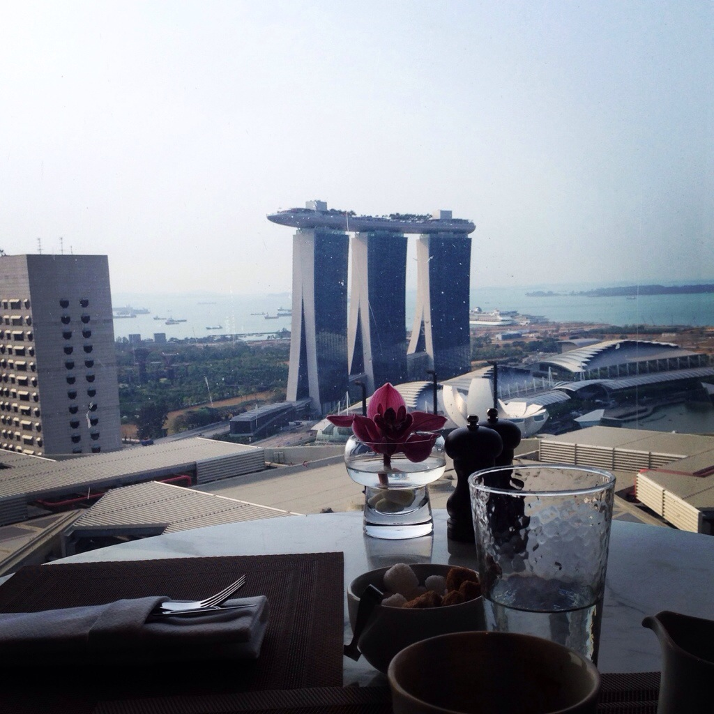 Pan Pacific Singapore Review: View from the Club Lounge