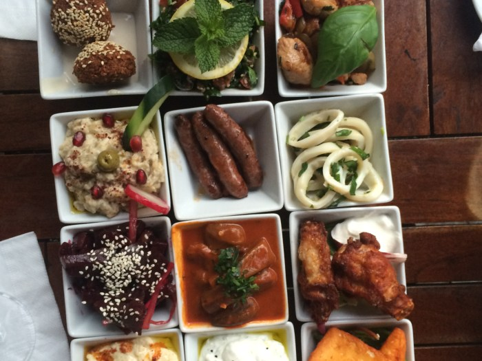 Dinner at Alarabi in Friedrichshein