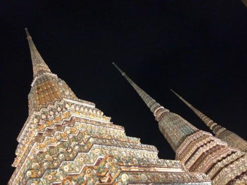 Visit Wat Pho at night during my 2 days in Bangkok itinerary