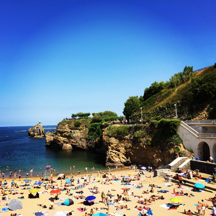 Things to Do in Biarritz: Hang out at Port Vieux