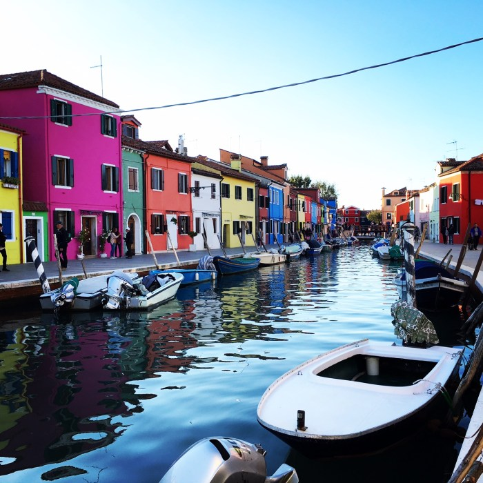 Beautiful Burano, Italy during one of my Venice walking tours