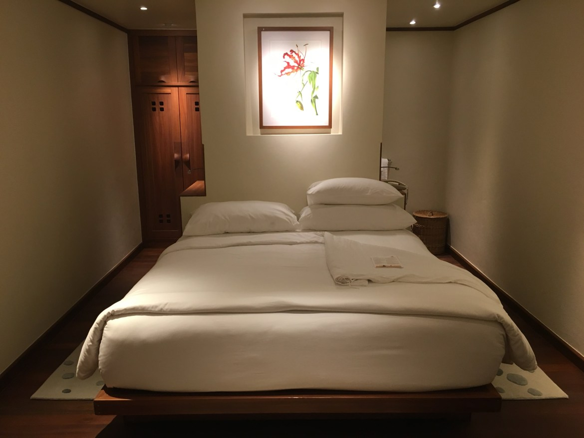 Ask for a mattress topper for your room at Kamalaya Koh Samui