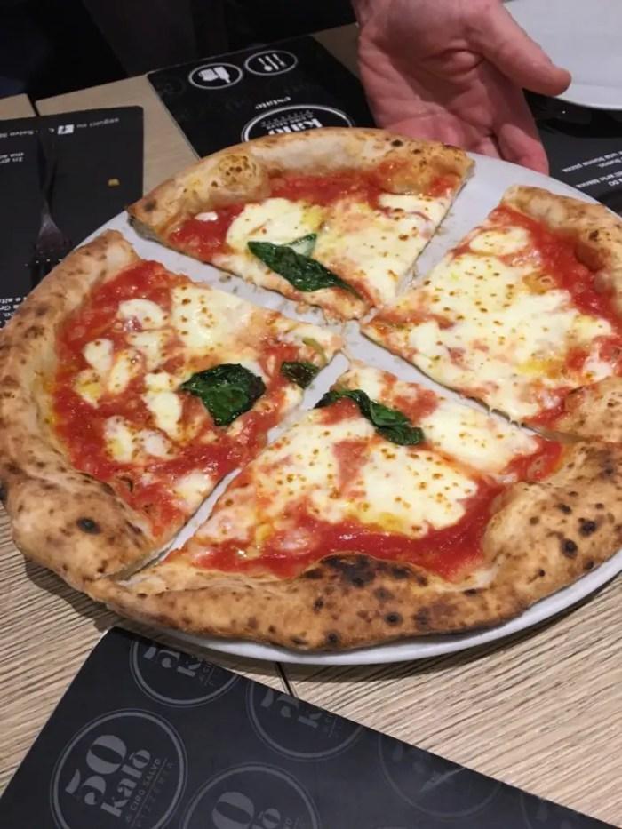 Pizza at 50 Kalo in Naples