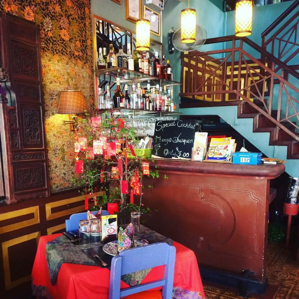 Crazy Amok Restaurant off Pub Street in Siem Reap