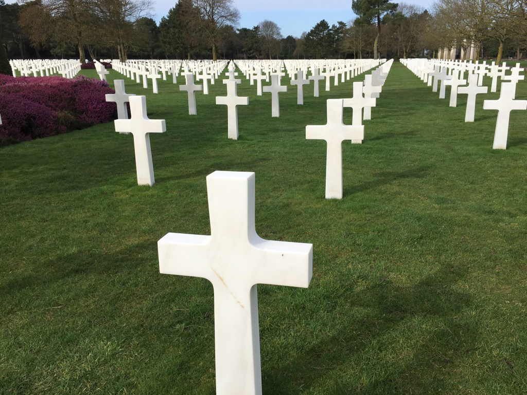 What to do in Bayeux, Normandy: The American Cemetery
