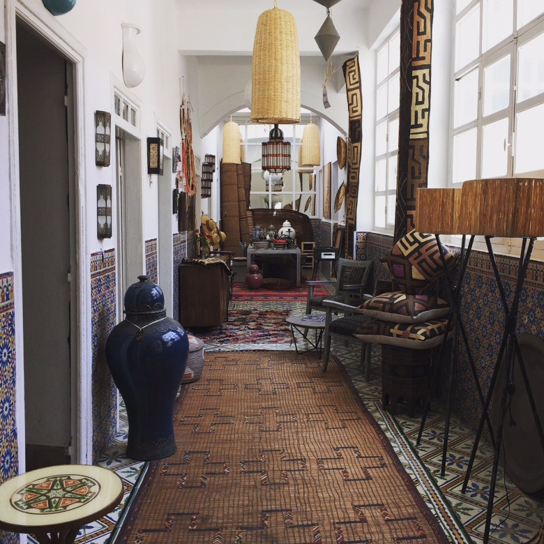 Shopping in Essouira: La Comptoir Oriental