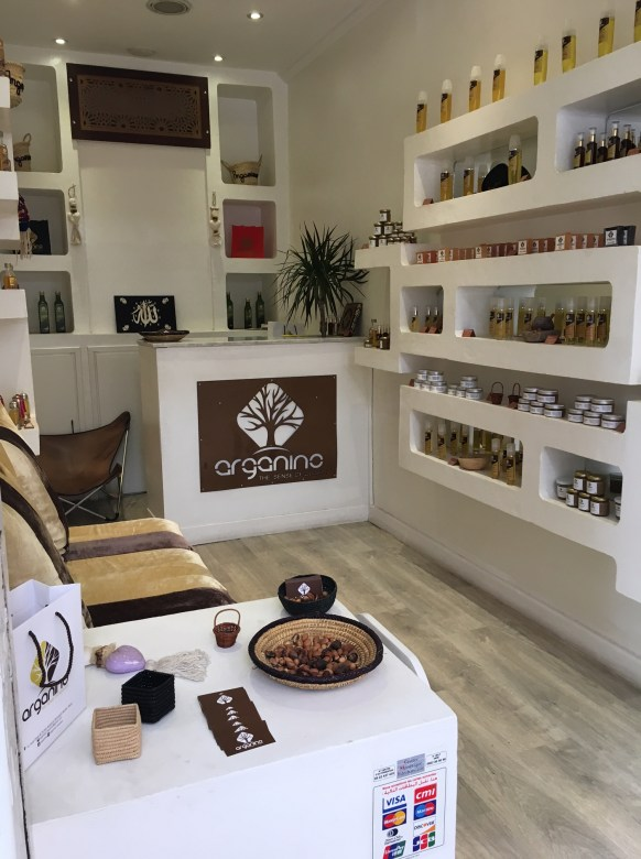One of my top Marrakesh Tips: Pick up some Argan Oil at Arganino