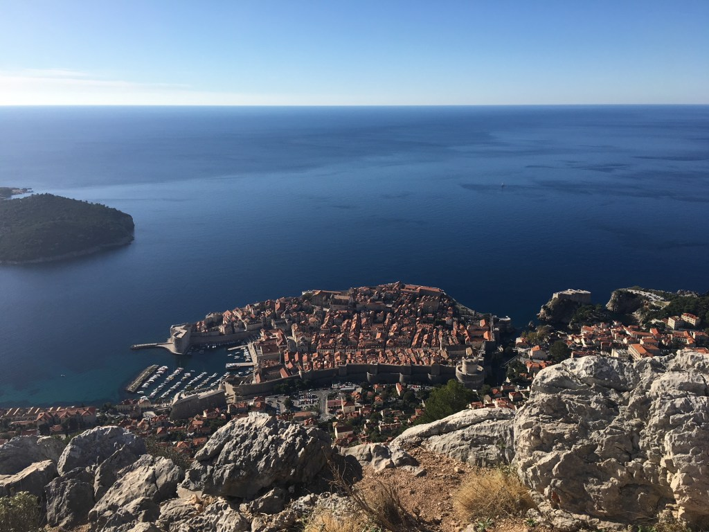 View from the top of Dubrovnik