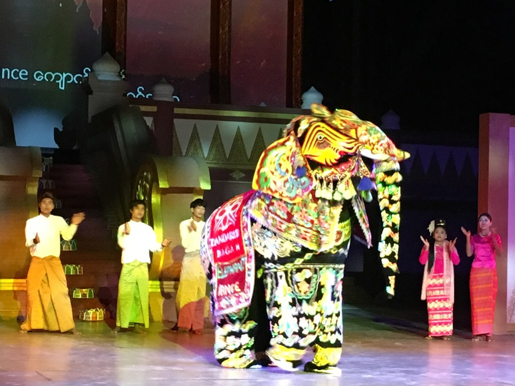 Things to do in Bagan: Check out the Dandaree Show