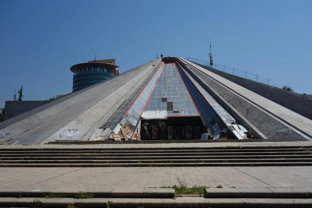Things to Do in Tirana: Visit the famous Tirana pyramid