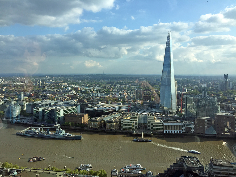 Checking out the view from Sky Garden is one of our top non-touristy things to do in London.